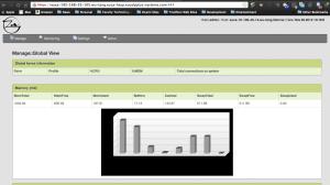 Landing Page - Zen Load Balancer Admin UI